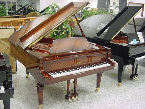 Schimmel Intarsia Grand Piano - Mahogany Polish