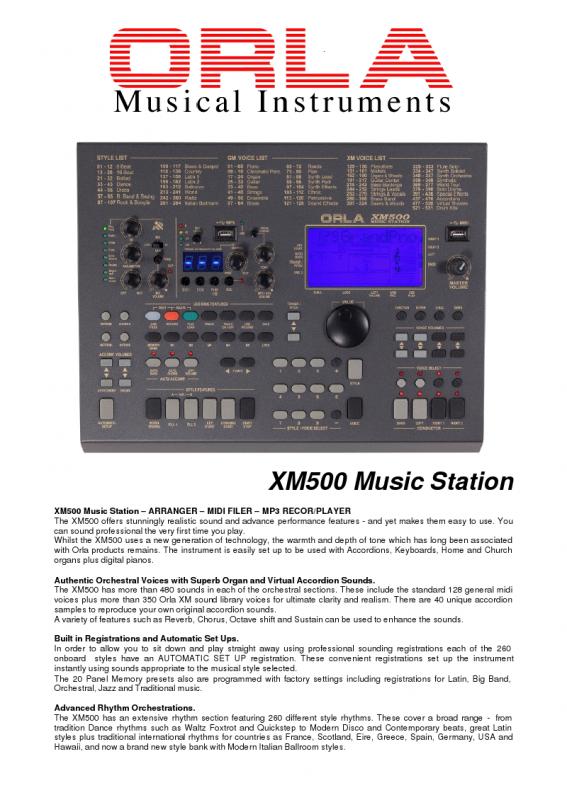 ORLA XM300