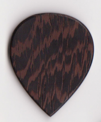 Thicket Wooden Guitar Pick - Wenge Wood - 3 Pack - Heavy