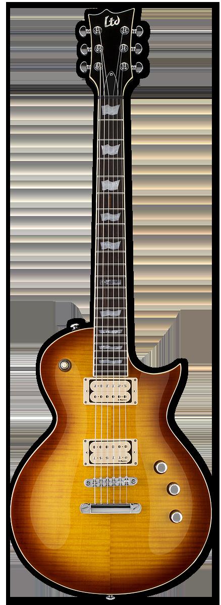 ESP LTD EC-401VF Dimarzio Faded Cherry Sunburst Electric Guitar