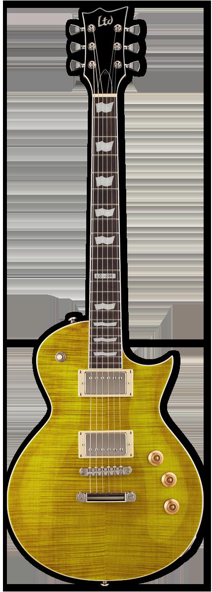 ESP LTD EC-256FM Lemon Burst Electric Guitar