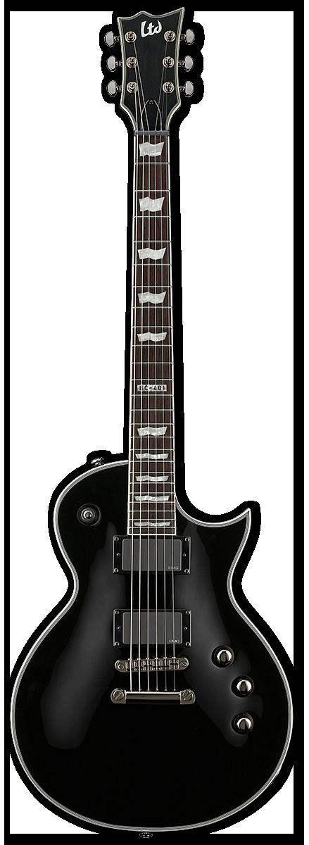 ESP LTD EC-401B Black Satin Electric Guitar