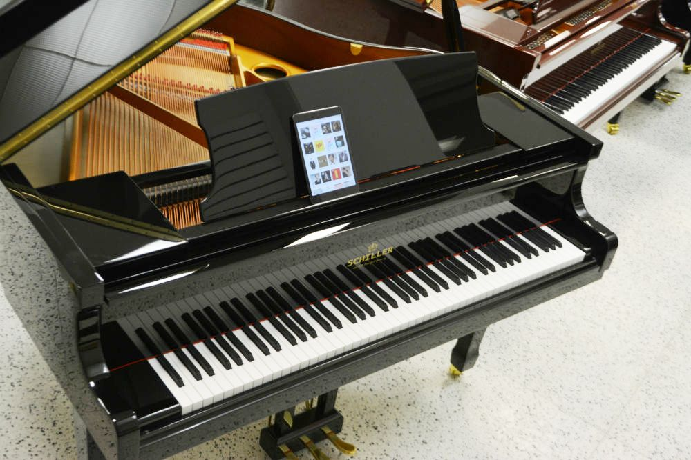 Schiller iPad Piano Disc Player System - Minneapolis music store, Schiller,  Steinway, Kawai pianos, and more