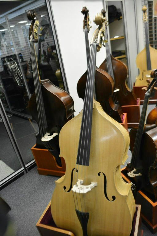 Vienna Strings Special Edition Blonde 1/2 Size Bass Older German Violin Corners