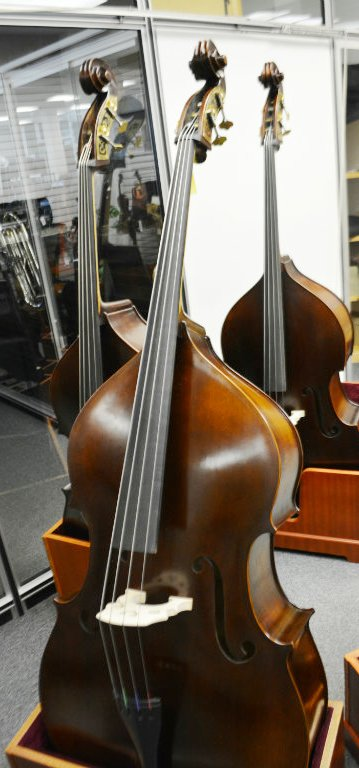 Vienna Strings Hamburg Bass Old German Violin Corners