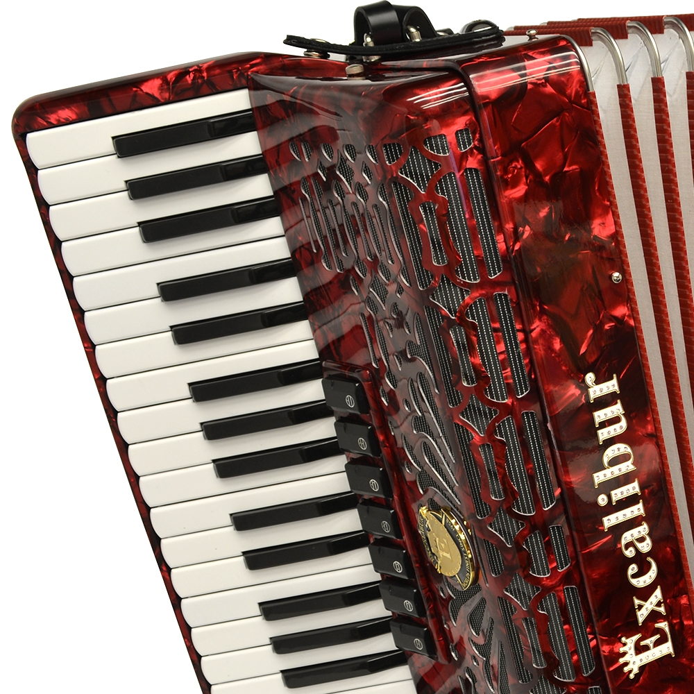 Excalibur Professionale 120 Bass 7-Switch Piano Accordion
