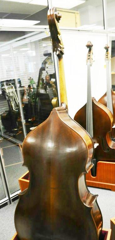Vienna Strings Munich Upright 3/4 Bass Old German Violin Corners