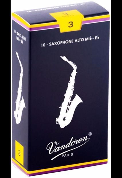 Vandoren Alto Saxophone Reeds - Box of 10