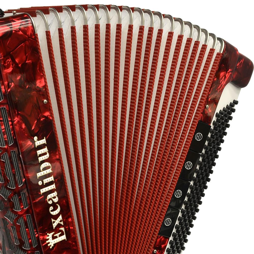 Excalibur Professionale 120 Bass 7-Switch Piano Accordion