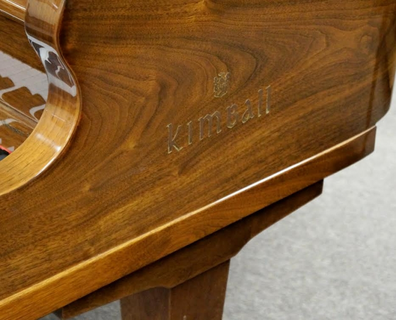 Kimball Vienna Classic Grand Piano Walnut Polish