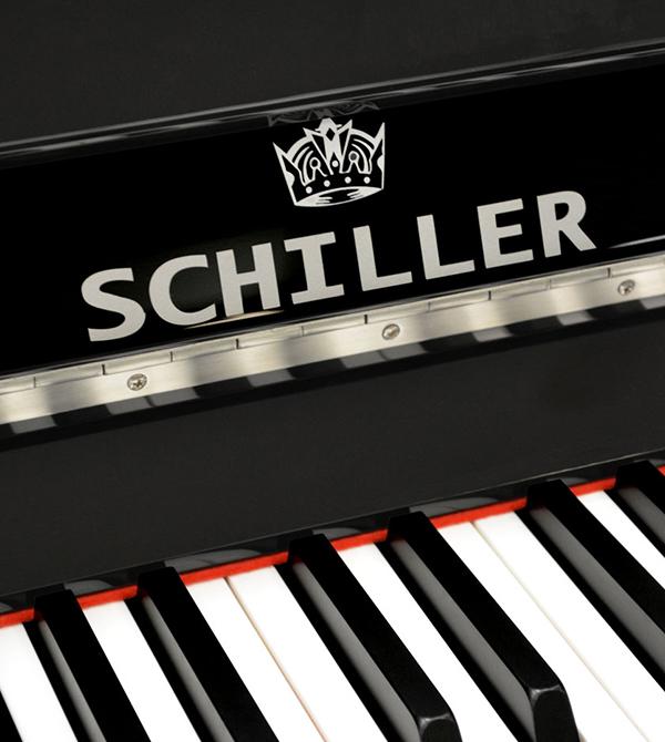 Schiller C48 Concert Upright Piano