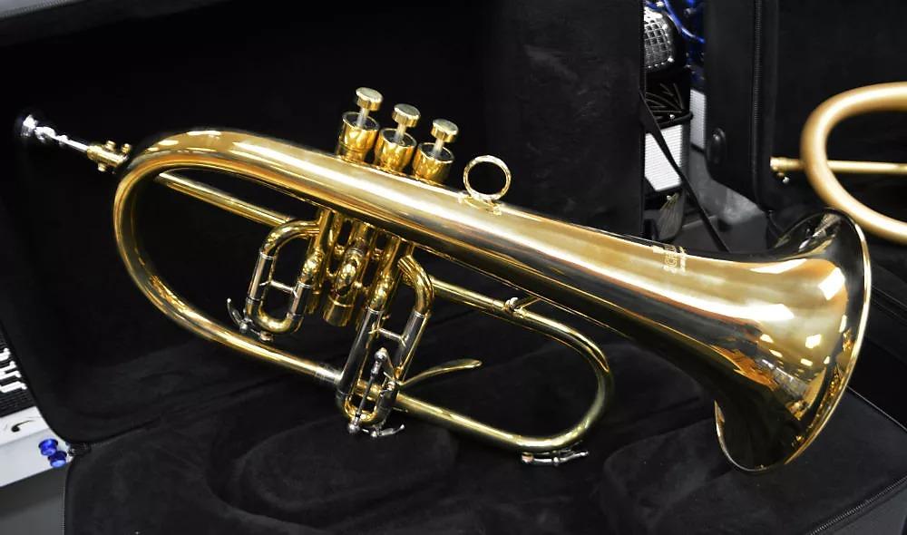 Schiller Frankfurt Studio Flugelhorn Unlacquered Brass